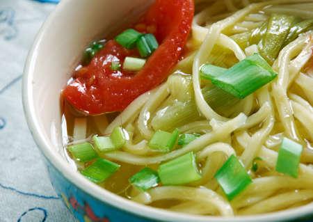 armenian: Arishta - Armenian soup with noodles