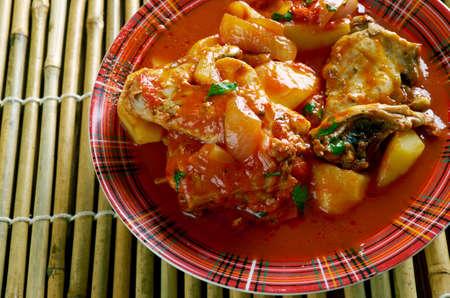 hoisin sauce: Filipino Chicken Asado close up