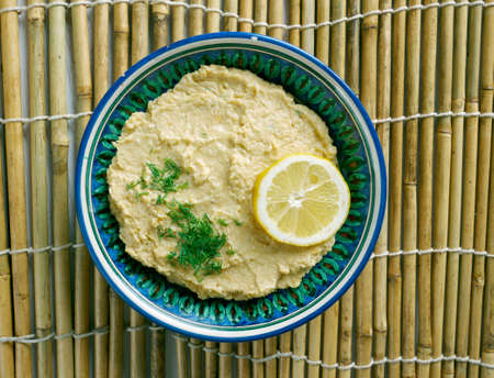 limon: Limon Soslu Humus - Hummus with Lemon Sauce