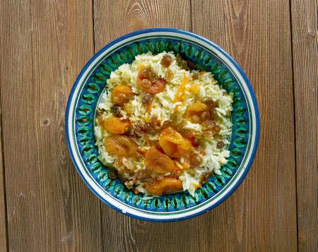 palau: Kabeli Palau - Afghan Food . Stock Photo