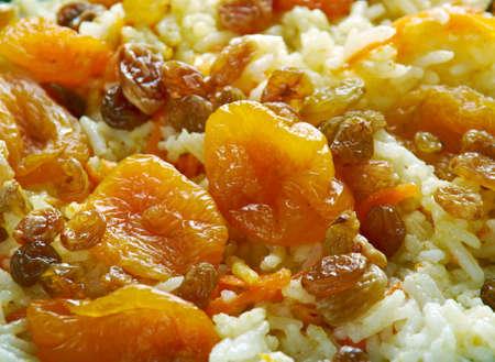Kabeli Palau - Afghan Lebensmittel. Standard-Bild