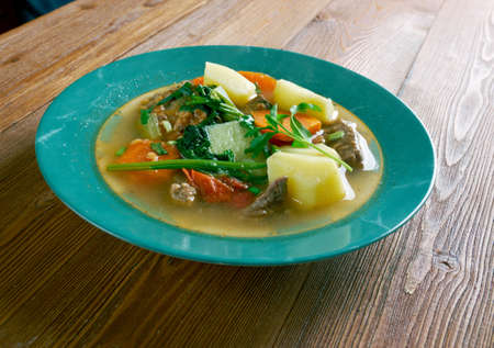 well loved: Cow Foot Soup popular and well loved dish in the Caribbean.