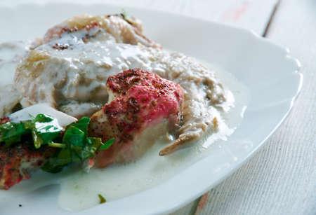 casserole: Yogurt Chicken Casserole