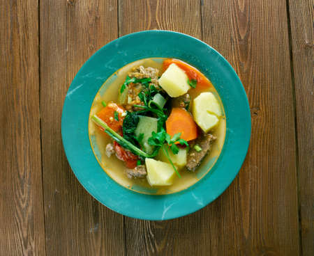 popular soup: Cow Foot Soup popular and well loved dish in the Caribbean.