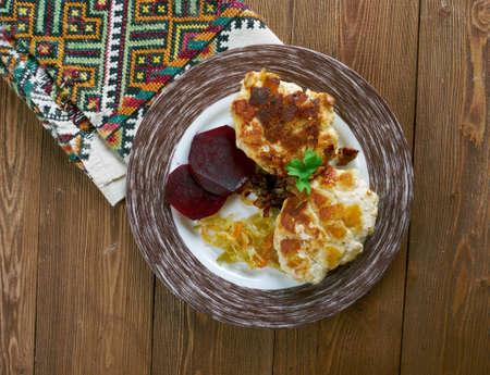 cutlets: Kotletas jurate  - Lithuanian chicken cutlets