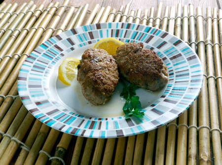 cypriot: Sheftalia  traditional Cypriot food.