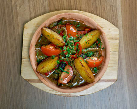 cypriot: Tava  Cypriot Baked Lamb