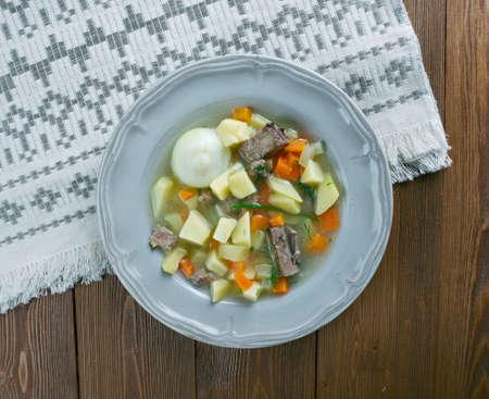 potato soup: Spreew??lder Kartoffelsuppe - German Potato Soup
