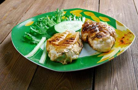 piri piri: Chicken with sauce piri piri