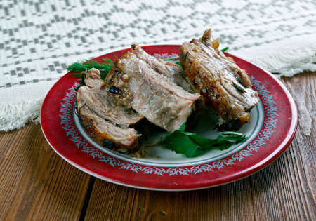carne Porco Assado - Mexican roast pork