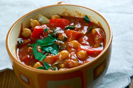 chorizo: Chorizo  chickpea soup