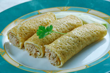 gallo: Baked  Chicken Taquitos