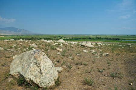 buryatia: Barguzin valley,Buryatia, Russia.