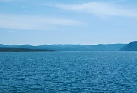 siberia: Angara river, eastern Siberia.