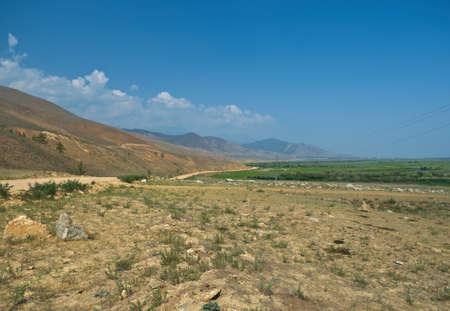 buryatia: Ulan-Ude route Kurumkan, Barguzin valley,Buryatia, Russia.