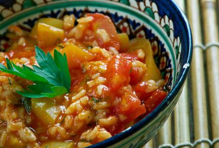 domates: Domates Bast?s? -Turkish appetizer of tomato