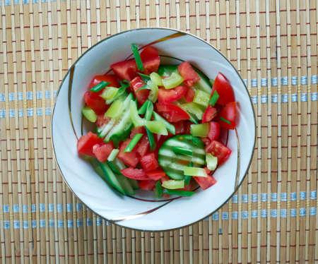 palestinian: Gazan Dagga - Palestinian vegetable salad