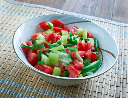 Gazan Dagga - Palestinian vegetable salad