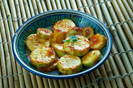 Masala Kundru Sabzi - Indian vegetable curry.