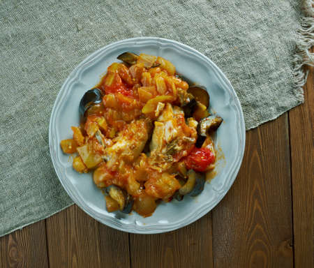 legumes: Legumes melanges - Mixed vegetables with chicken