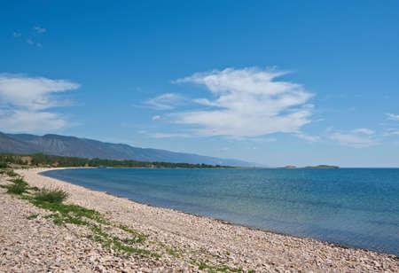 strait: Maloe More Strait View, Cape Uyuga, Baikal lake