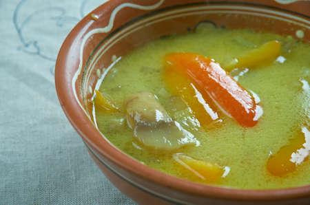 tripe: ciorba de burta - Romanian tripe soup