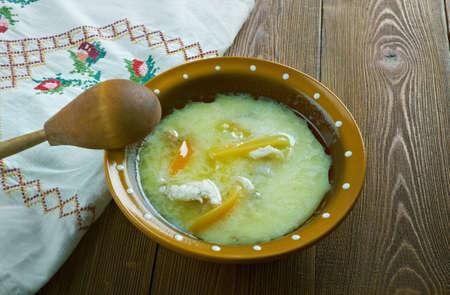 codfish: klippfisk  - Scandinavian  Codfish soup