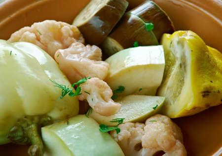 iranian: Torshi - Iranian, Afghan pickled vegetables