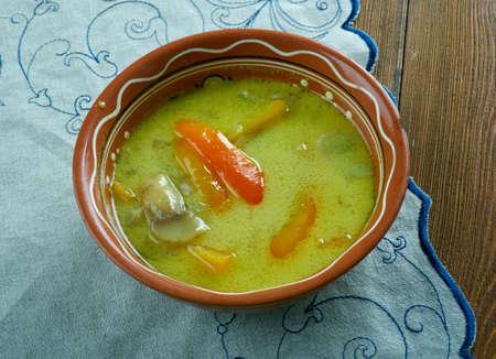 ciorba de burta - Romanian tripe soup