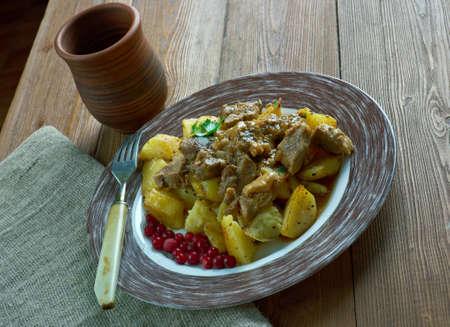 venison: poronkaristys - sauteed venison . Scandinavian kitchen