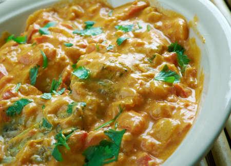 ka: Hyderabadi Dum Ka Murgh .Chicken in an Indian style Stock Photo
