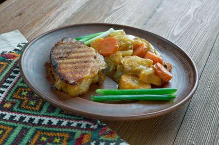 loci: loci pechene Hungarian dish of pork