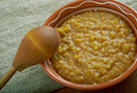 slavs: Bryja . Slush - a rare porridge or zacierka, dish characteristic of the ancient Germans, Celts and Slavs drawn up on the basis of overcooked beans or porridge,