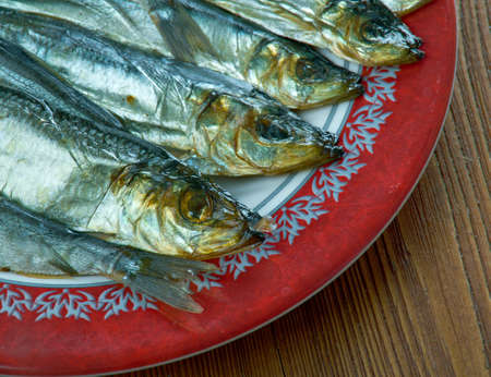 savusilakka Finnish smoked herring - sprat