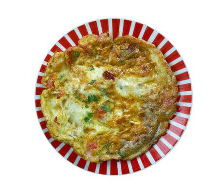 Eggah - Egyptian Omelette.ood genre within Arab cuisine