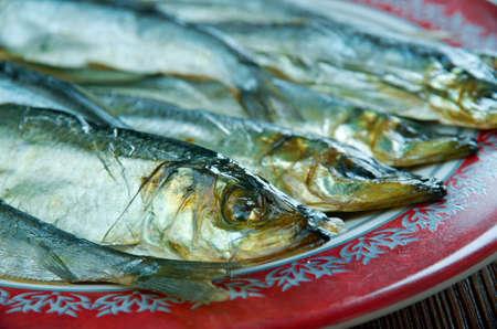 sprat: savusilakka Finnish smoked herring - sprat