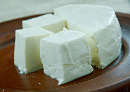 traditionally: Lighvan cheese  brined curd cheese traditionally made in Iran.Azerbaijani cuisine