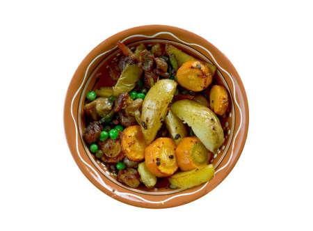 chadian:  Bangaou  - Chadian lamb stew. Africana Cuisine