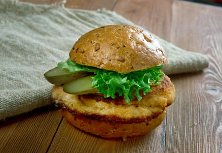 midwest: Traditional Indiana Pork tenderloin sandwich similar to the Wiener Schnitzel and is popular in the Midwest region of the United States,