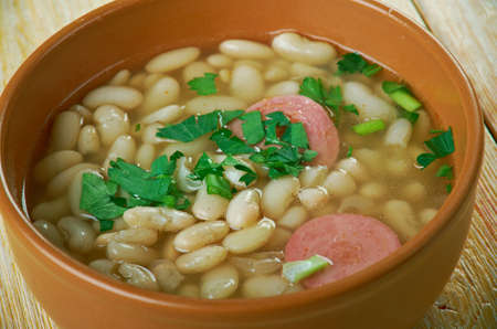 Ciorba de Fasole  - Romanian Bean Soup