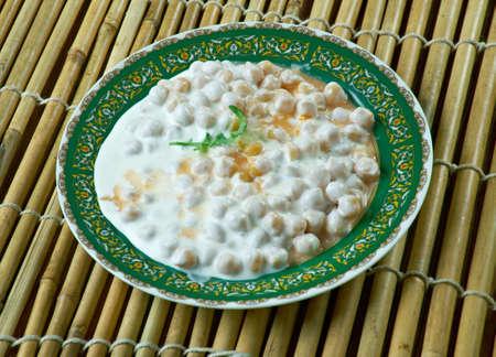 turkish ethnicity: Keledos - Turkish  Chickpea  drained yogurt  food
