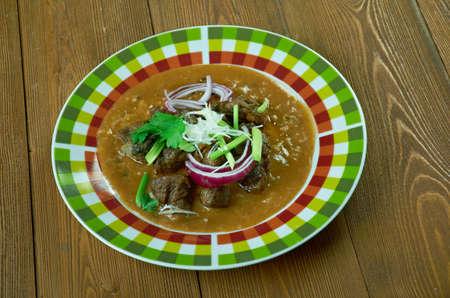 Red Iguana deliciosa comida mexicana Foto de archivo - 67900477