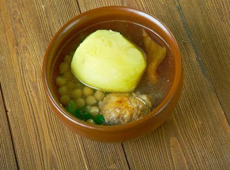 iranian: Kufta bozbash Iranian, Azerbaijan,Middle Eastern mutton soup