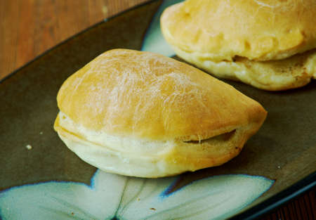 Panada stuffed bread or pastry baked or fried in many countries in Spain and Latin America