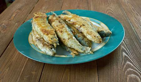 batters:  friteeratut muikut - Finnish  Fried whitefish