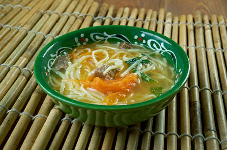 Thukpa - Tibetan noodle soup, which originated in the eastern part of Tibet.
