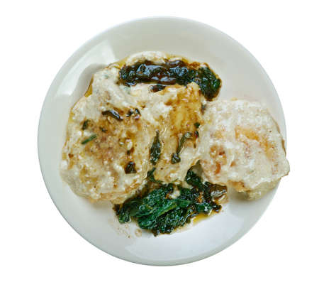 uses: Chicken Florentine - Italian favorite uses cream of mushroom dich.