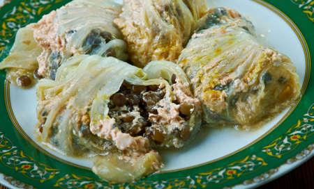 Mercimekli Lahana Sarmas?  -Turkish  lentil Sarma