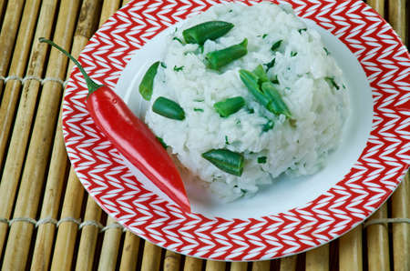 kaeng: Khao phat kaeng kiao wan - Rice Fried With Green Curry