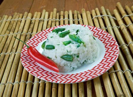 Khao phat kaeng kiao wan - Rice Fried With Green Curry